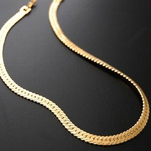 Vintage Monet Gold Chain Necklace